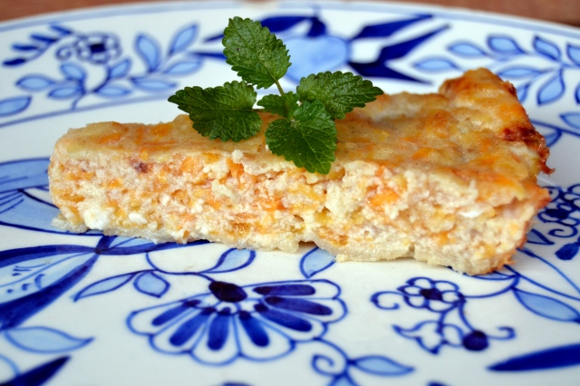 Torta di zucca gialla - italiensk pumpapaj