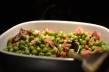 Ärtor och pancetta