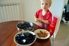 Otto pillar musslor