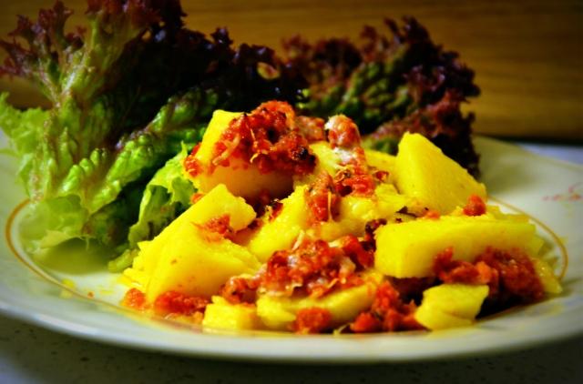 Polenta med salsiccia