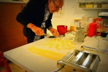 Claudio gör tortellini