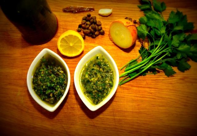 Salsa verde (grön sås)