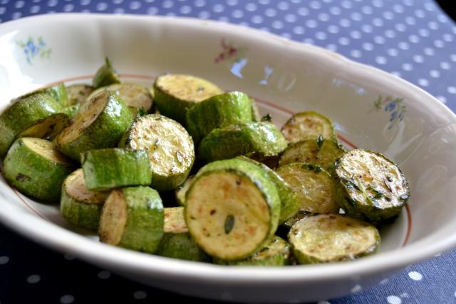 Zucchini med oregano