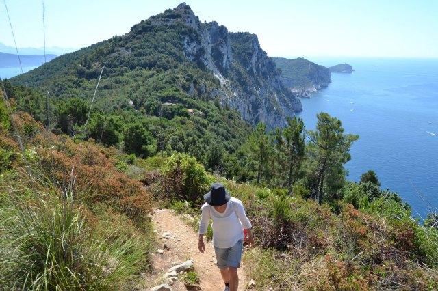 Stigen mellan Portovenere och Cinque terre