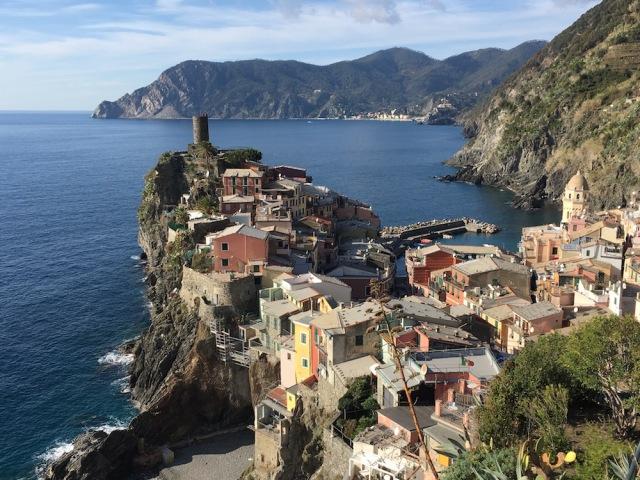 Vernazza under konferensresa med vandring i Cinque terre