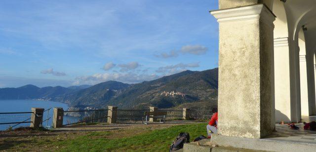Madonna di Montenero ovanför Riomaggiore